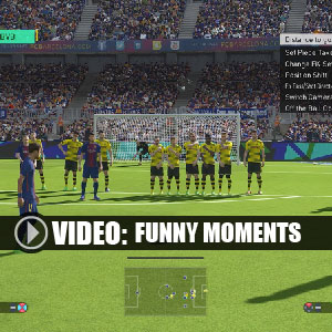 Pro Evolution Soccer 2018 Funny Moments