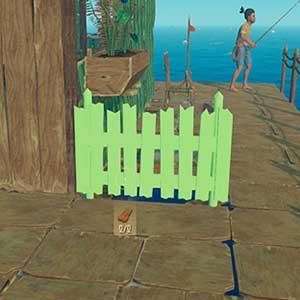una casa galleggiante