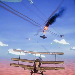 Red Wings Aces of the Sky Combattimento tra cani