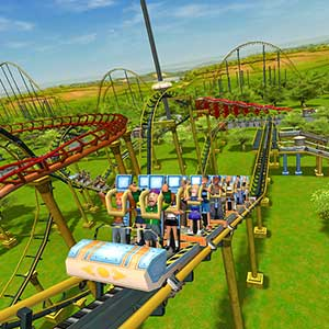RollerCoaster Tycoon 3 Complete Edition Montagne russe