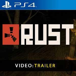 Video trailer Rust PS4