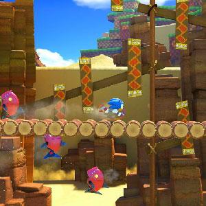 Combattere orde di robot come Modern Sonic