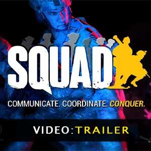 Video del rimorchio Squad