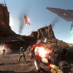Star Wars Battlefront Camminatore
