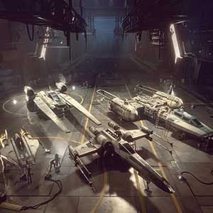 cabine di pilotaggio degli starfighter