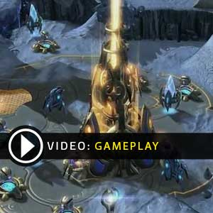Starcraft 2 Heart of the Swarm Video Gameplay