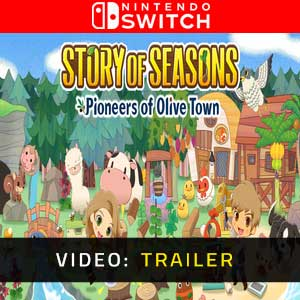 STORY OF SEASONS Pioneers of Olive Town Trailer Video