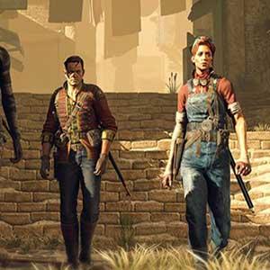 Quattro impavidi cacciatori di fortuna