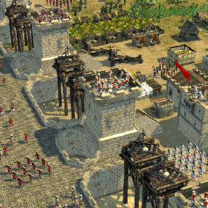 Stronghold Crusader 2 Accampamento