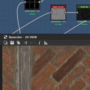 Substance Designer 2021 Interfaccia
