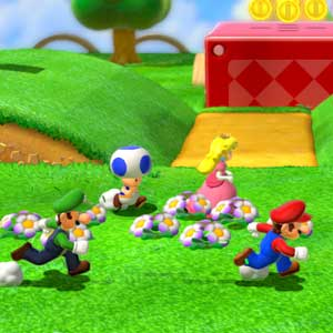 Super Mario 3D Land Nintendo 3DS Correndo