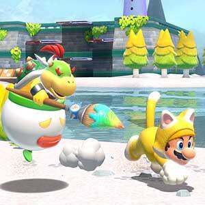 Super Mario 3D World + Bowser s Fury Nintendo Switch - Bowser e Mario
