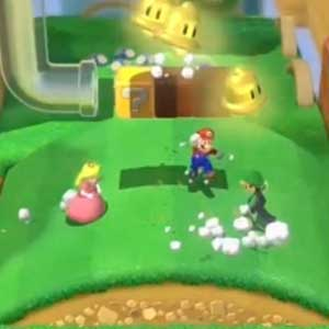 Super Mario 3D World Nintendo Wii U Saltare