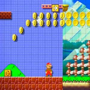 Super Mario Maker Nintendo Wii U Di fronte ai nemici