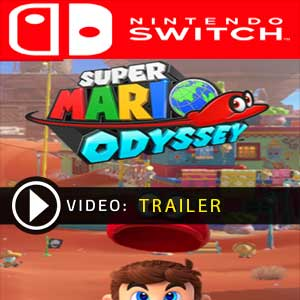 Super Mario Odyssey video trailer