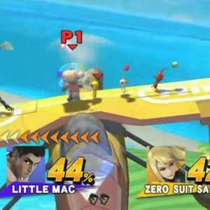Super Smash Bros Nintendo Wii U Combattimento