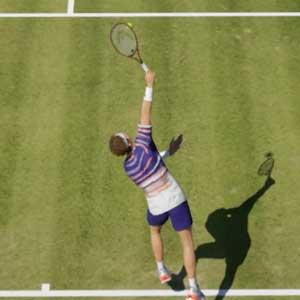 Tennis World Tour 2 campo in erba