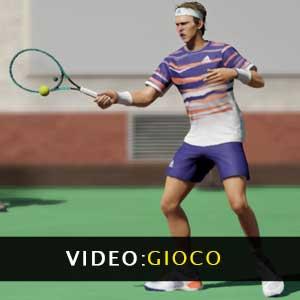 Video di gioco del Tennis World Tour 2