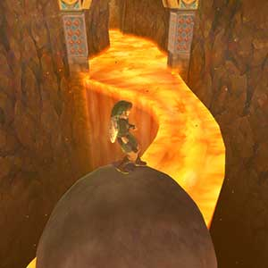 The Legend of Zelda Skyward Sword HD Nintendo Switch Tempio Della Terra