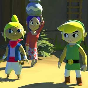 The Legend of Zelda The Wind Waker HD Nintendo Wii U Personaggi