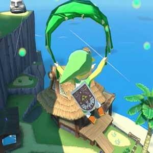 The Legend of Zelda The Wind Waker HD Nintendo Wii U La Grande Isola