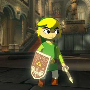 The Legend of Zelda The Wind Waker HD Nintendo Wii U Carattere principale