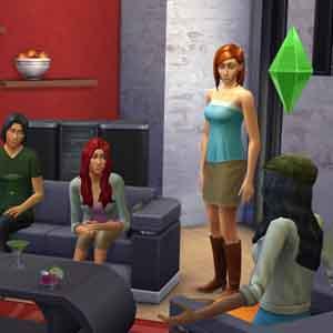 Sims 4 A casa con gli amici