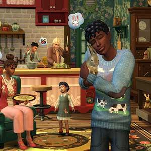 The Sims 4 Cottage Living - Coniglietti