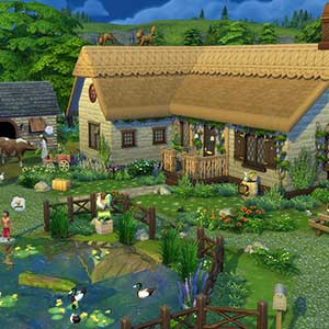 The Sims 4 Cottage Living - Casa