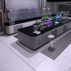 Laboratorio superiore della stazione