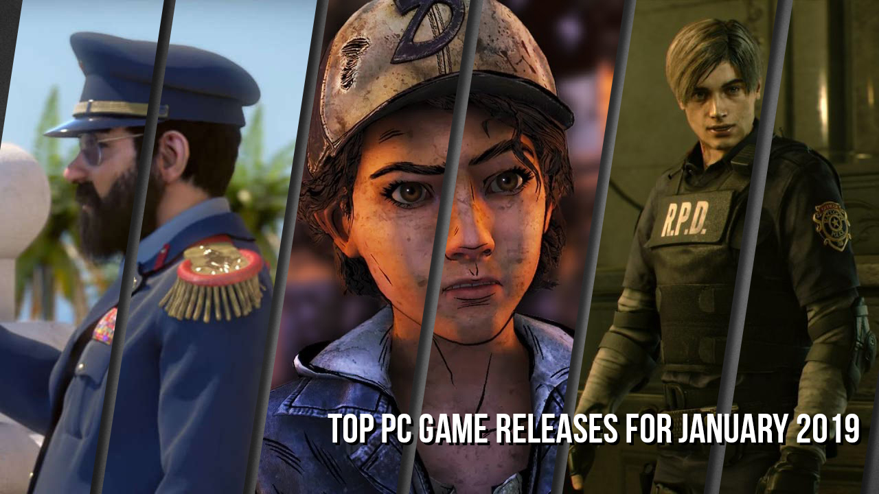 Top PC Game Releases for January 2019