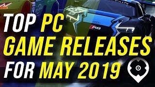 Giochi per PC in rilascio per maggio 2019