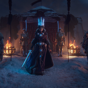 Total War Warhammer 3 Ice Queen di Kislev