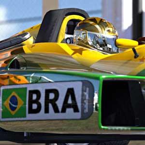 TrackMania 2 Stadium - macchina da corsa del Brasile