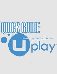 Come attivare una CD key Uplay