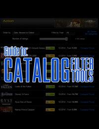 Guida agli strumenti di filtro del catalogo di CdKeyIt