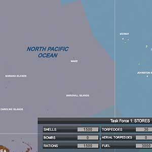 l'intera mappa dell'Oceano Pacifico