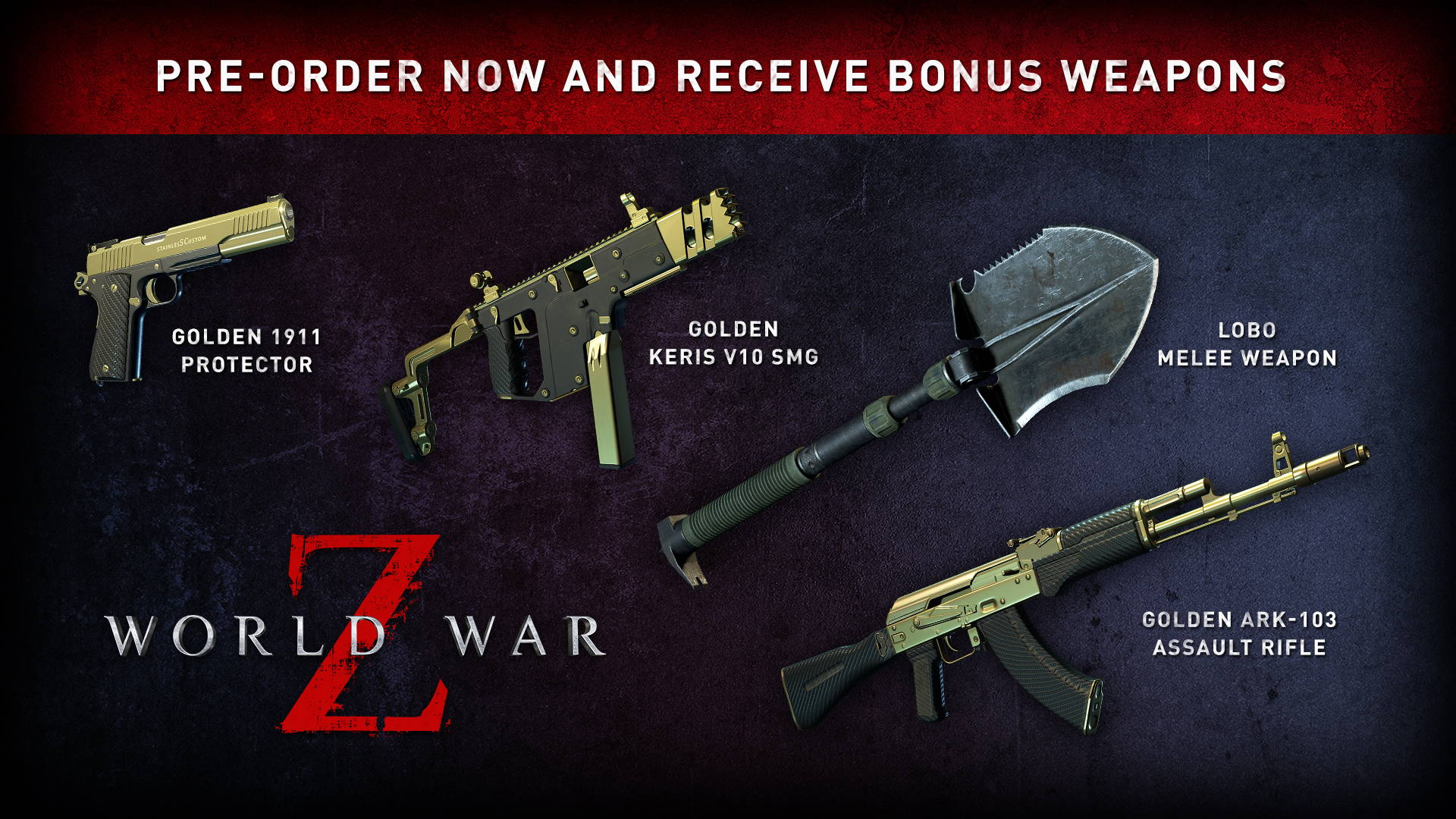 World War Z Pre-order Bonuses