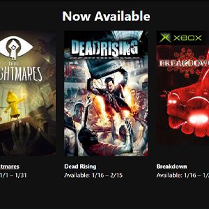 XBOX LIVE GOLD Giochi gratis