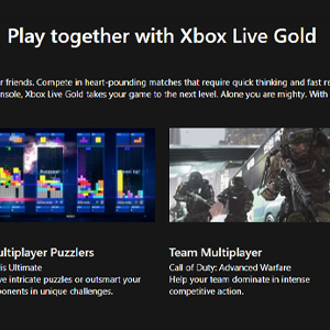 Xbox Live Gold Membership 12 Months Subscription Giocare insieme